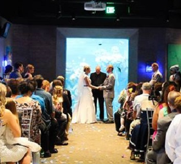 Officiating The First Wedding Held At Toledo Zoo Aquarium